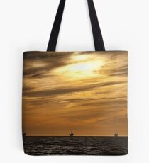Sun Setting on a Resource Tote Bag
