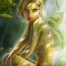 elf in wood  von Alena Lazareva