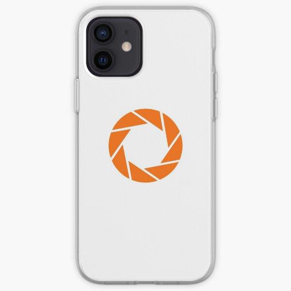 Aperture Science (Orange) Logo iPhone Soft Case