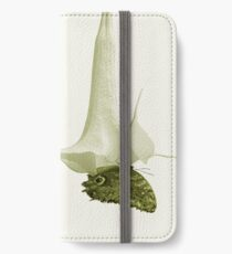 Monochrome - At the butterfly ball iPhone Wallet/Case/Skin