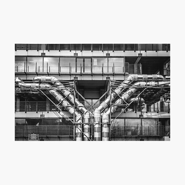 Pipe Line Photographic Print