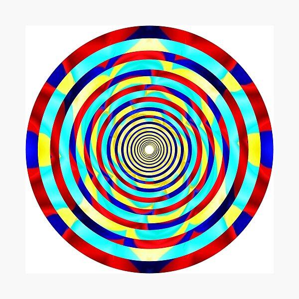 #OpArt, #visual #illusion, #VisualArt, opticalart, opticalillusion, opticalillusionart, opticalartillusion, psyhodelic, psichodelic, psyhodelicart Photographic Print