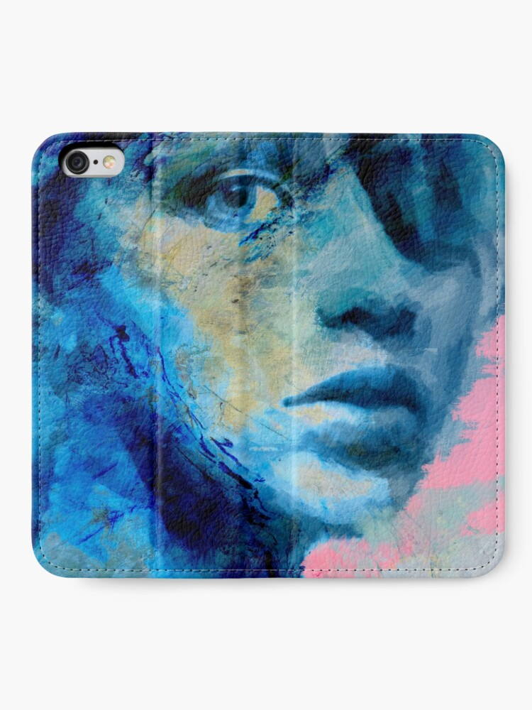 Alternate view of Blue IV iPhone Wallet