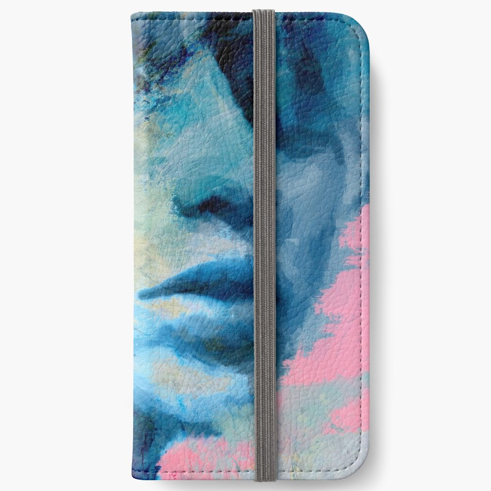 Blue IV iPhone Wallet