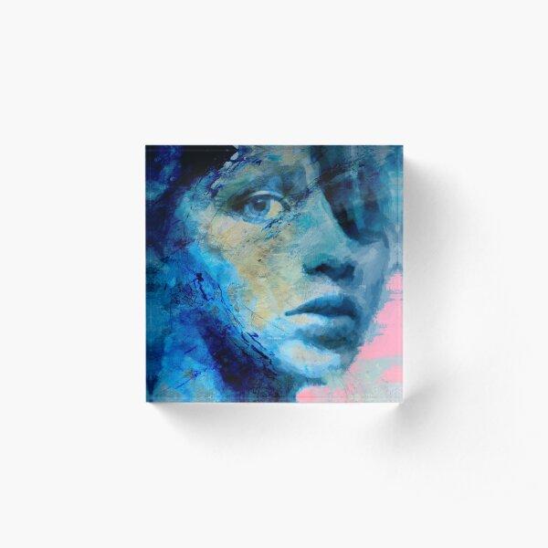 Blue IV Acrylic Block
