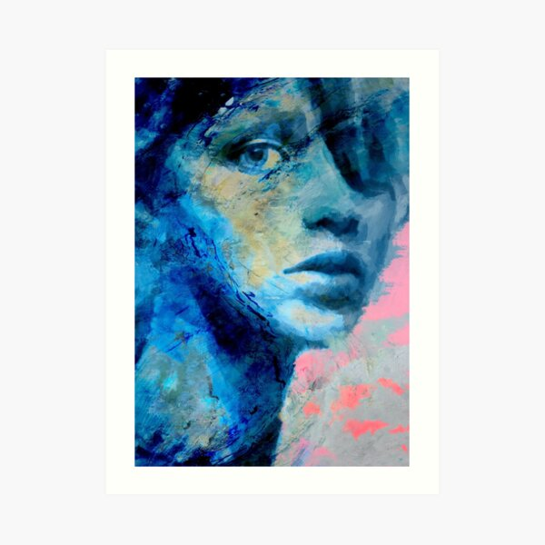 Blue IV Art Print