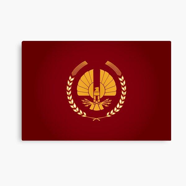 Panem Logo Canvas Print