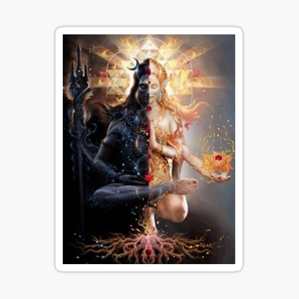 Shiva Shakti  Sticker