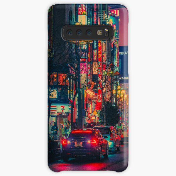 Neotokyo VI- Japan Night Photo Samsung Galaxy Snap Case