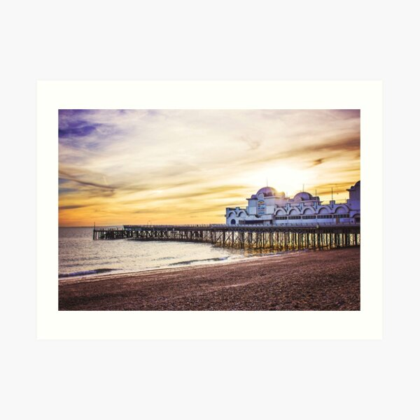South Parade Pier - Portsmouth Art Print