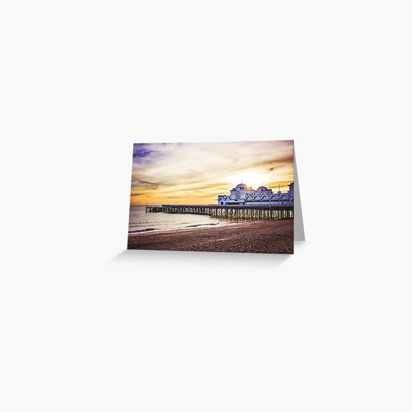 South Parade Pier - Portsmouth Greeting Card