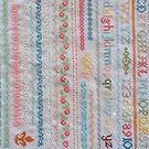 Cross stitch sampler by RainbowAngel