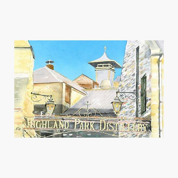 Highland Park Distillery Photographic Print