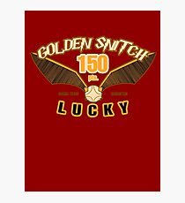 Golden Snitch - Lucky 150 pts. Photographic Print