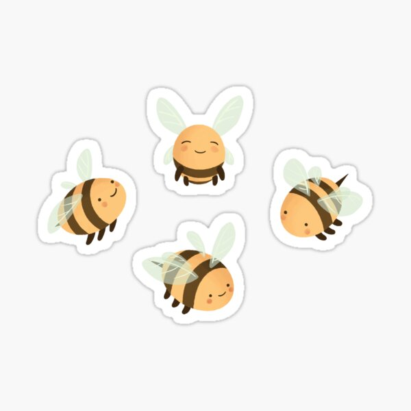Lots of Bees Sticker