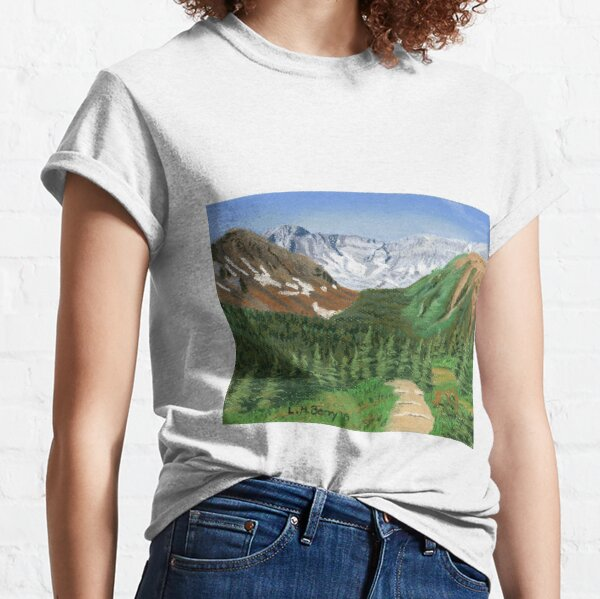 Across the Valley from Ptarmigan Cirque Classic T-Shirt