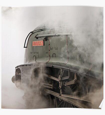 LNER A4 Class 4-6-2  60019 Bittern Poster