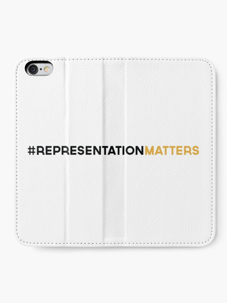 Alternate view of #RepresentationMatters iPhone Wallet