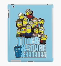 Time and Space and Bananas iPad Case/Skin