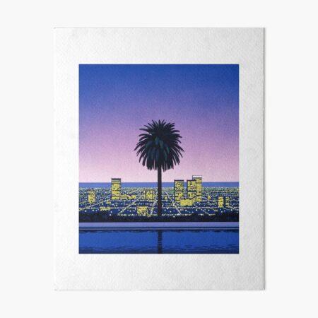 Hiroshi Nagai Art Print Poster Vaporwave Shirt Wallpaper Impression rigide