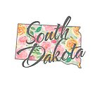 South Dakota State | Floral Design with Roses von PraiseQuotes
