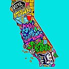 CALIFORNIA by thespiltink