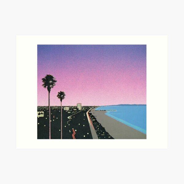 Hiroshi Nagai Art Print Poster Vaporwave Shirt Wallpaper Art Print