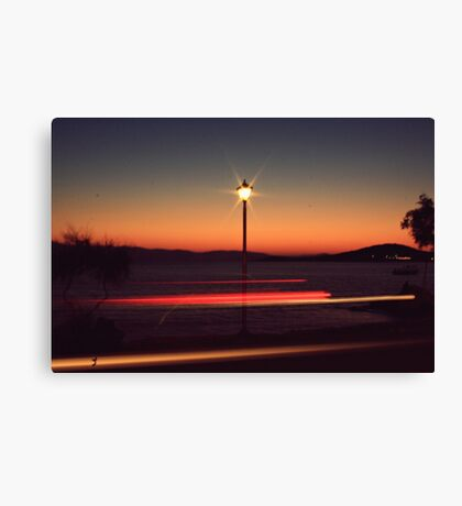 give my love to a shooting star Canvas Print