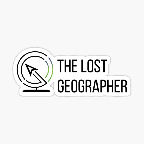 The Lost Geographer Sticker