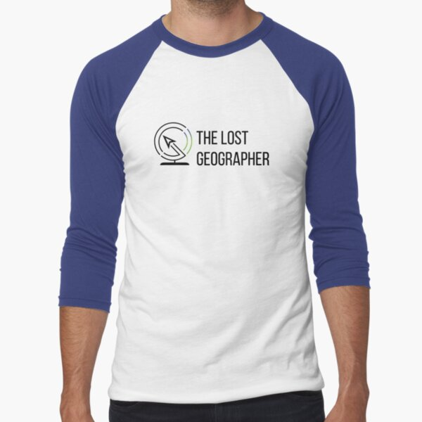 The Lost Geographer Baseball ¾ Sleeve T-Shirt