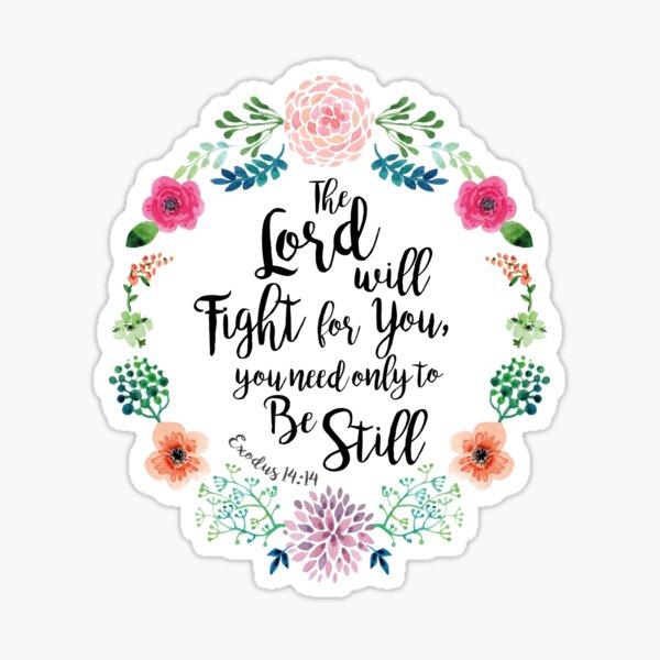 Exodus 14:14 Sticker