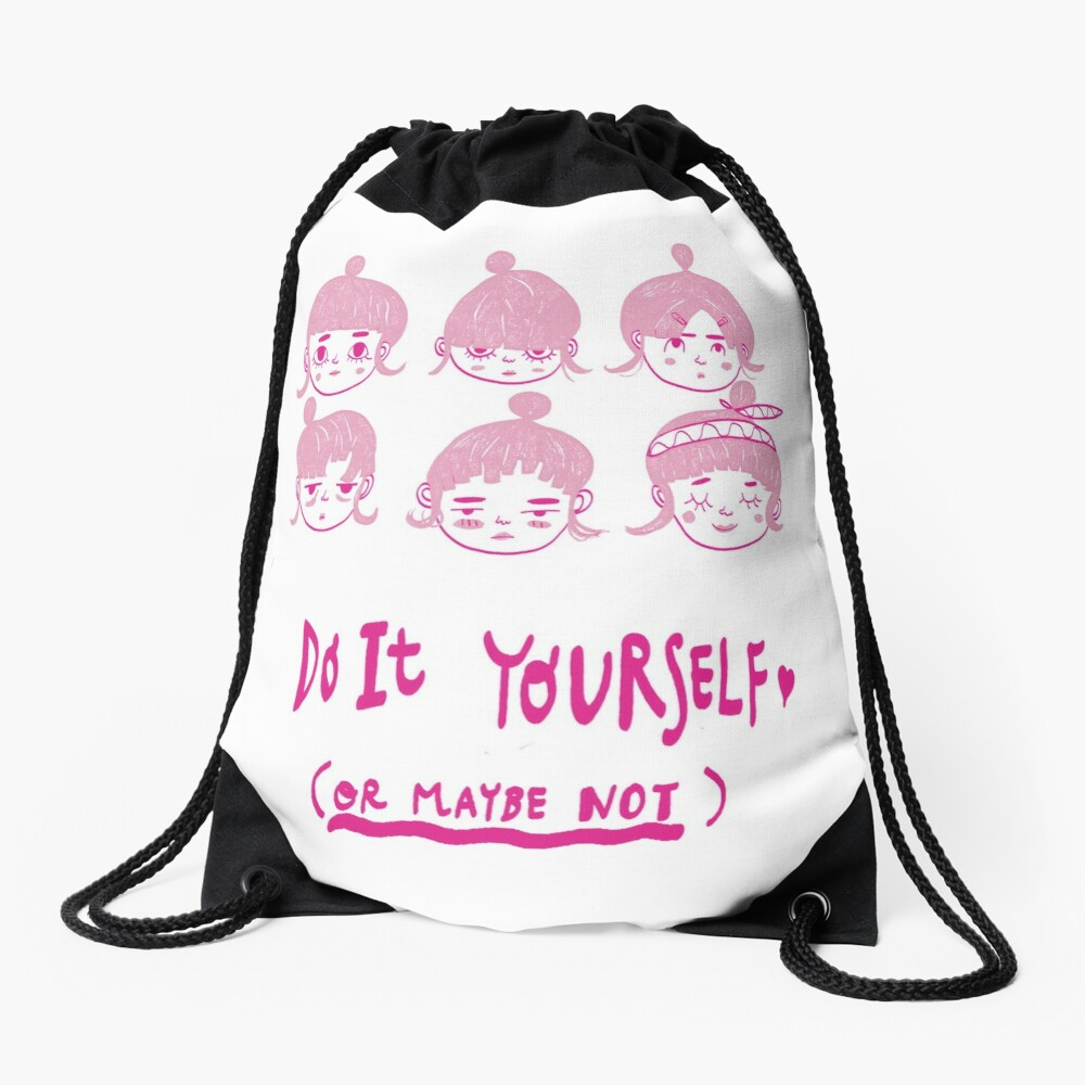 Do It Yourself  Drawstring Bag