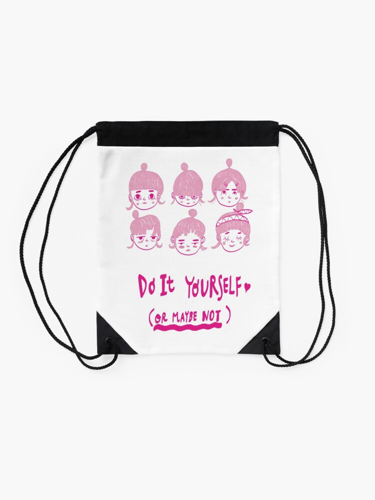 Alternate view of Do It Yourself  Drawstring Bag