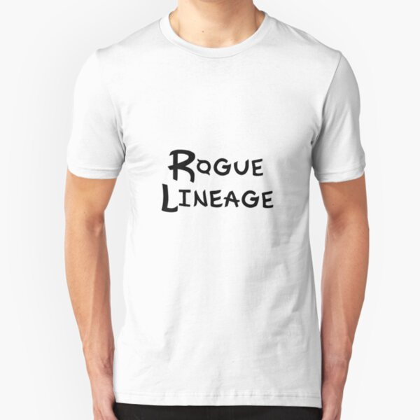 Rogue Lineage Logo T Shirt By Archrbx Redbubble