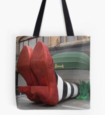 Clean pair of heels - Harrods, London Tote Bag