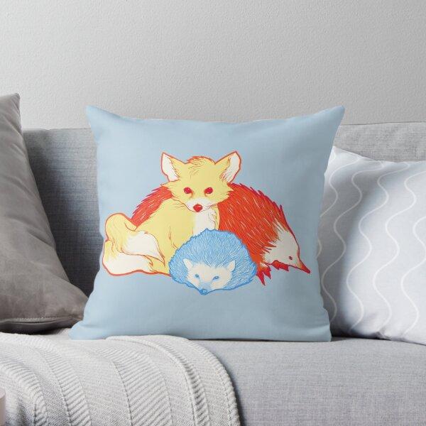Fast Friends Throw Pillow