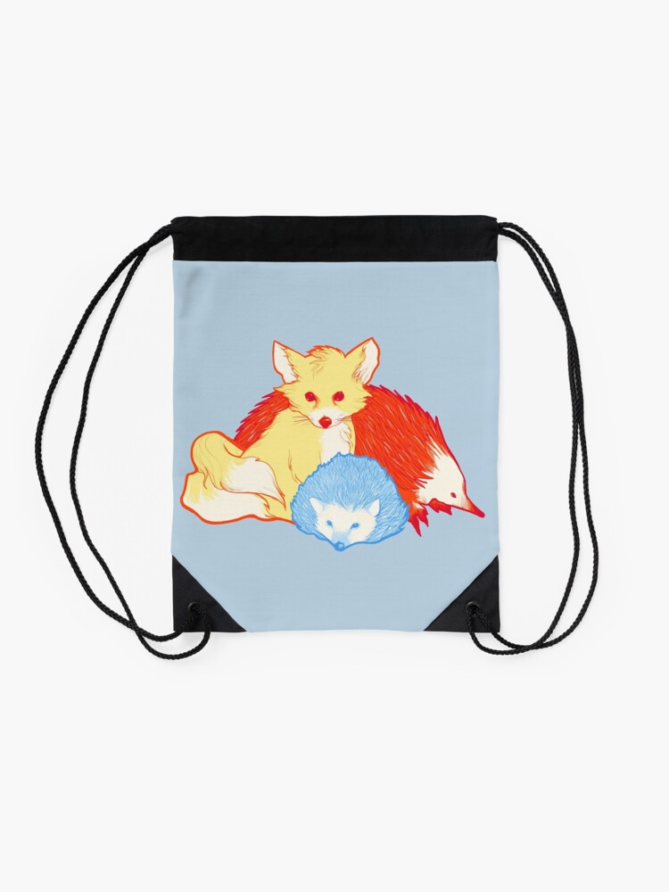Alternate view of Fast Friends Drawstring Bag