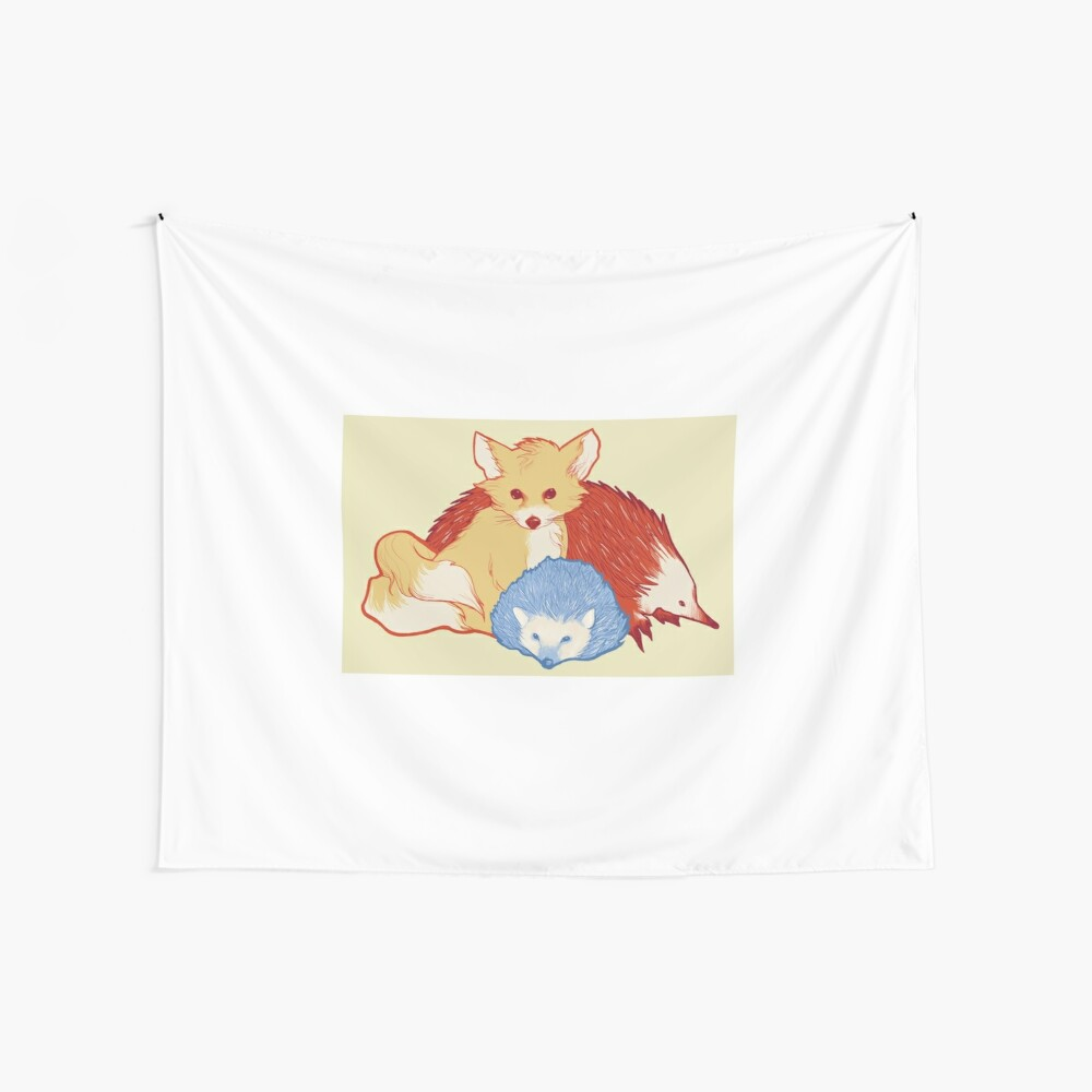 Fast Friends Wall Tapestry