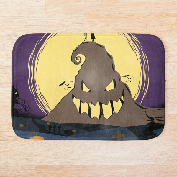 Nightmare Before Christmas Bath Mat