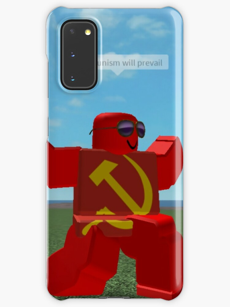 Roblox Ussr Logo Communism Will Prevail Roblox Meme Case Skin For Samsung Galaxy By Thesmartchicken Redbubble