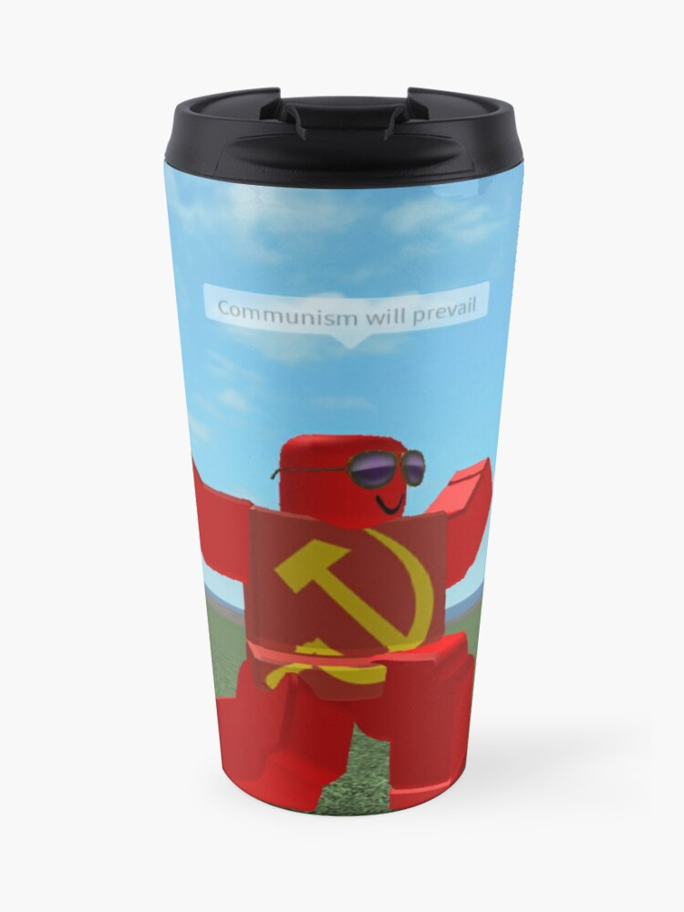 Communism Will Prevail Roblox Meme Bath Mat By Thesmartchicken Redbubble Communism Will Prevail Roblox Meme Travel Mug By Thesmartchicken Redbubble