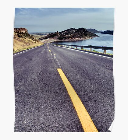 Horsetooth Reservoir Poster