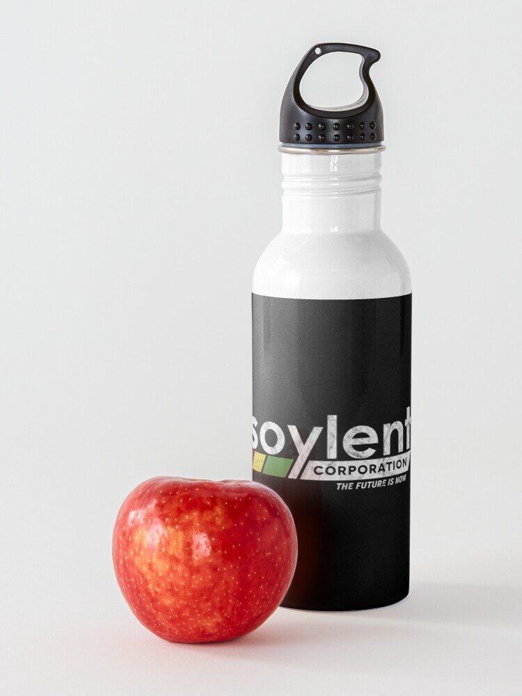 Alternate view of Soylent Corporation logo inspired by Soylent Green Water Bottle