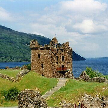 Urquhart Castle , Scotland by goldyart