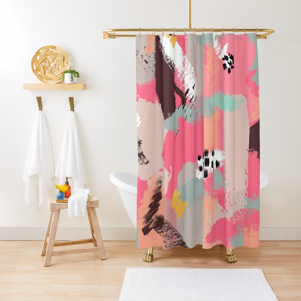 Modern Art Shower Curtain