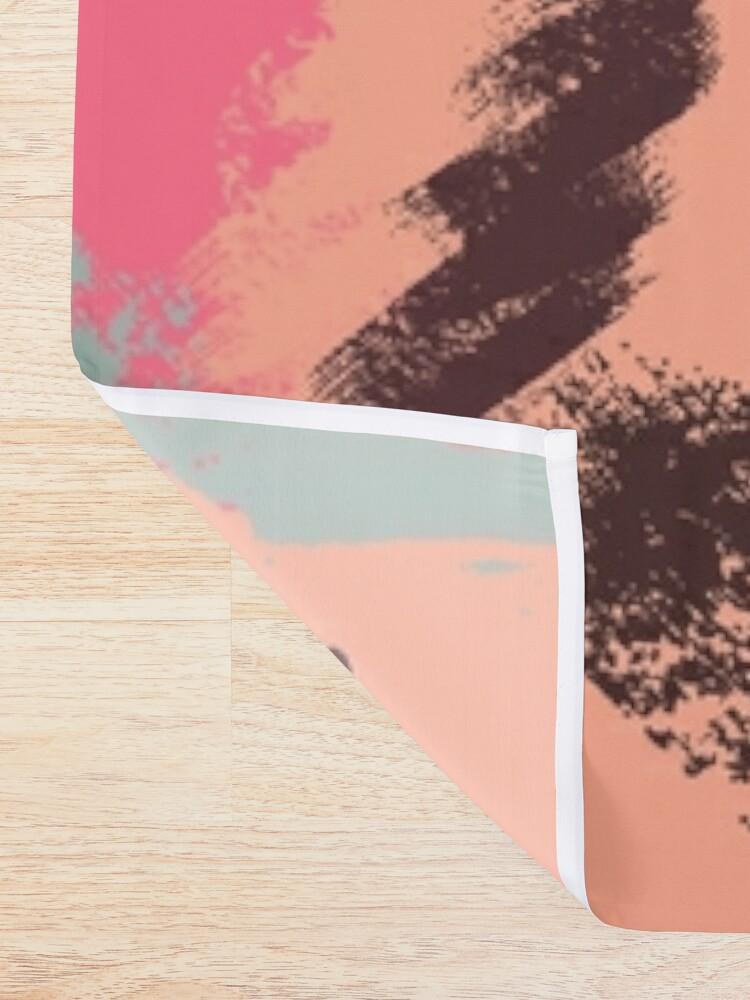 Alternate view of Modern Art Shower Curtain