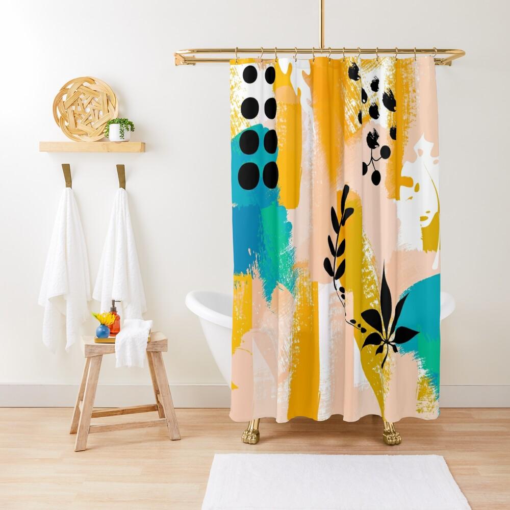 Hello Summer Trends  Shower Curtain