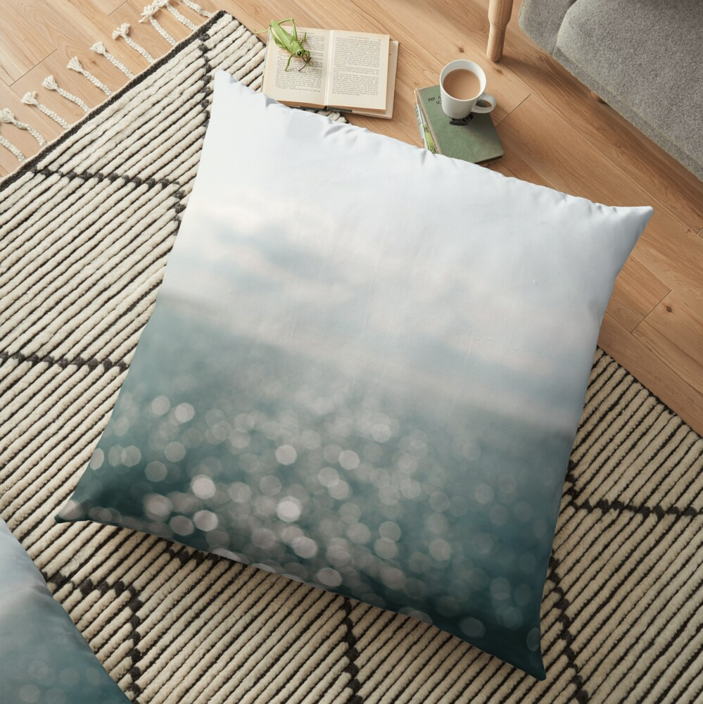 Pamlico Sparkle Floor Pillow