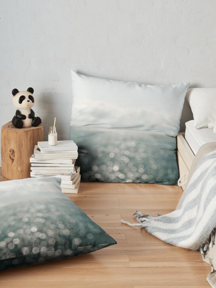Alternate view of Pamlico Sparkle Floor Pillow