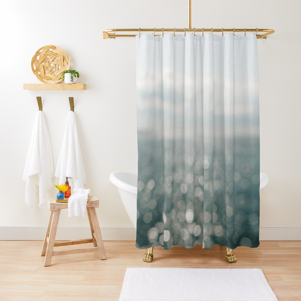 Pamlico Sparkle Shower Curtain